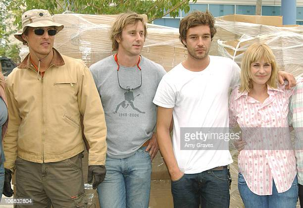 Matthew McConaughey Jake Weber James Gooding and Patricia Arquette
