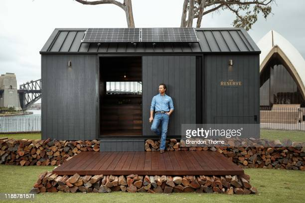 Matthew McConaughey launched an offgrid cabin he codesigned with Wild Turkey's charity initiative With Thanks at The Royal Botanic Gardens November...