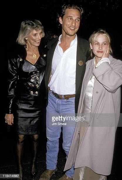 Matthew McConaughey Mother and Patricia Arquette