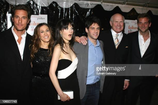 Matthew McConaughey Sarah Jessica Parker Zooey Deschanel Justin Bartha Terry Bradshaw and Bradley Cooper