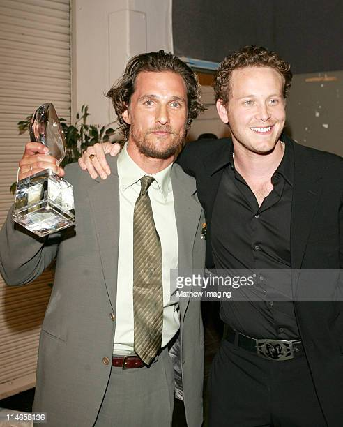 Matthew McConaughey winner of Favorite Male Action Star and Cole Hauser ** EXCLUSIVE**