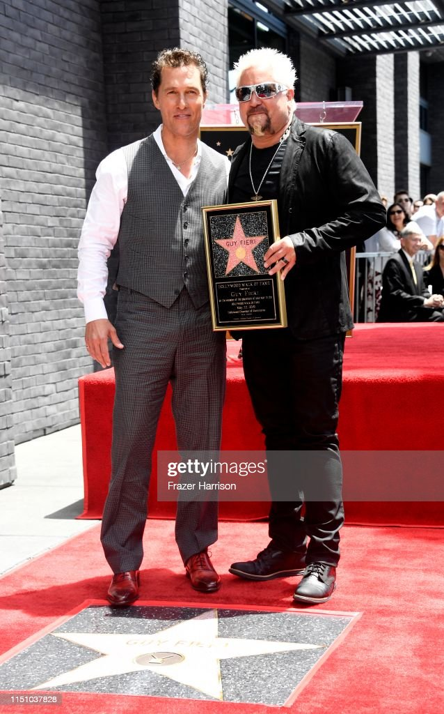 CA: Guy Fieri Honored With Star On Hollywood Walk Of Fame