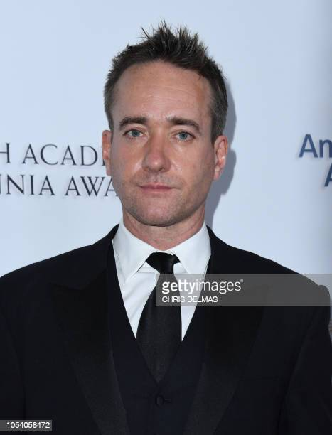 Matthew McFadyen arrives for the 2018 British Academy Britannia Awards at the Beverly Hilton hotel in Beverly Hills on October 26 2018