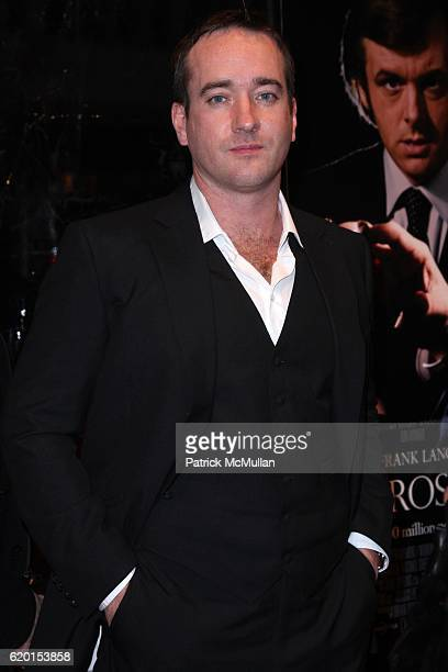 Matthew McFadyen attends UNIVERSAL PICTURES IMAGINE ENTERTAINMENT and WORKING TITLE FILMS Present the New York Premiere of FROST/NIXON at Ziegfeld...