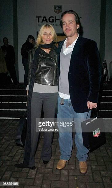 Matthew McFyden and Keeley Hawes