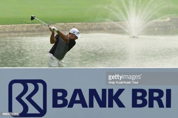 Matthew Millar of Australia pictured during the first round of the Bank BRI Indonesia Open at Pondok Indah Golf Course on July 12 2018 in Jakarta...