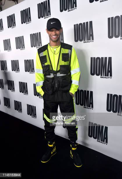 Matthew Miller attends UOMA Beauty Launch Event at NeueHouse Hollywood on April 25 2019 in Los Angeles California