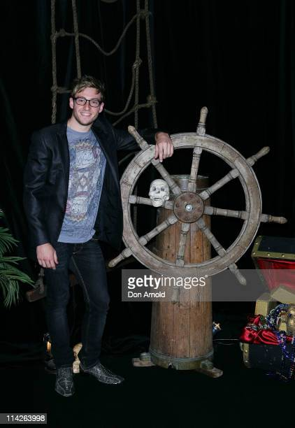 Matthew Mitcham arrives at the Australian premiere of Pirates of the Caribbean 4 at Event Cinemas George Street on May 17, 2011 in Sydney, Australia.
