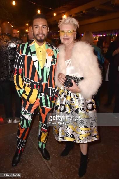 Matthew Mitchell and Viga Dean attend the House Of Cardin Special Screening At Palm Springs Modernism Week at The Plaza Theater on February 21 2020...