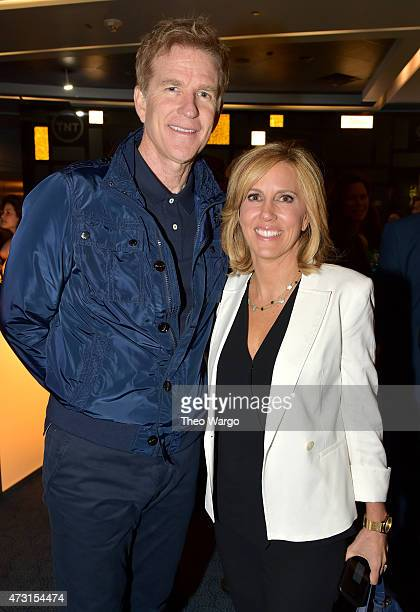 Matthew Modine and Alisyn Camerota attend the Turner Upfront 2015 at Madison Square Garden on May 13 2015 in New York City JPG