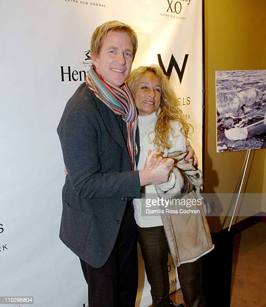 Matthew Modine and Ann Dexter Jones during Hennessy XO Cognac Presents the New York City Premiere of Four Short Films Conceived and Directed by...