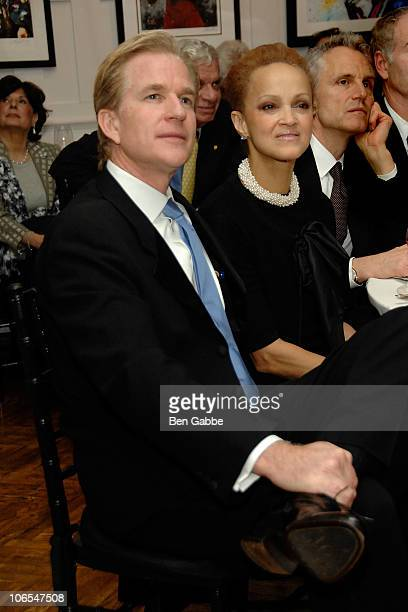 Matthew Modine and Cari Modine attend the Medal of Honor for Photography ceremony at The National Arts Club on November 4 2010 in New York City