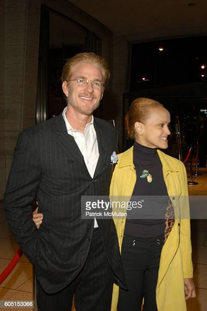 Matthew Modine and Cari Modine attend THE QUEEN New York Film Festival Premier Arrivals at Avery Fischer Hall at Lincoln Center on September 29 2006...