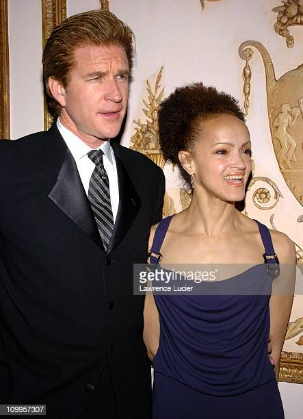 Matthew Modine and Cari Modine during 19th Annual American Museum of the Moving Image Benefit Salute to Richard Gere Arrivals at WaldorfAstoria in...