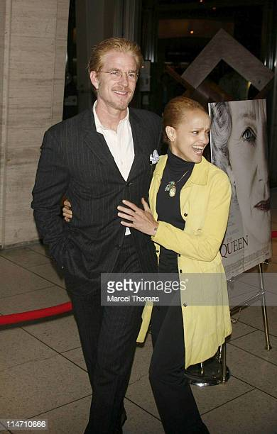 Matthew Modine and Cari Modine during New York Film Festival premiere of Miramax Films The Queen Arrivals at Lincoln Center in New York City New York...