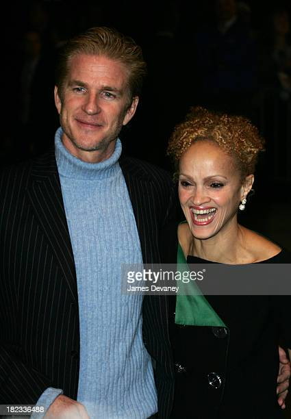 Matthew Modine and Cari Modine during TRH The Prince of Wales and The Duchess of Cornwall Attend the Museum of Modern Art Gala at Museum of Modern...