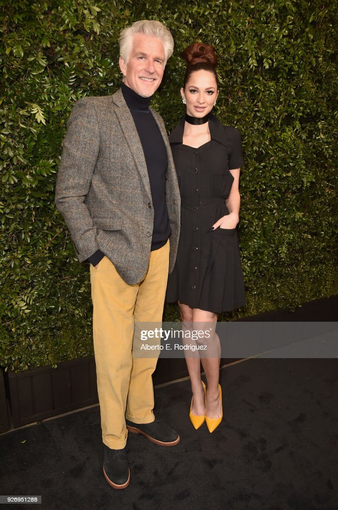 Charles Finch And Chanel Pre-Oscar Awards Dinner At Madeo In Beverly Hills - Arrivals : Fotografía de noticias