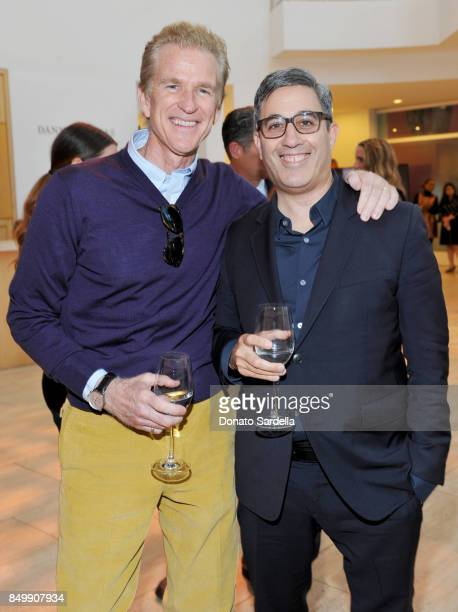 Matthew Modine and Jason Weinberg at Brooks Brothers and Vogue with Lisa Love And Zac Posen Host A Special Screening Event For 'House of Z' The Zac...