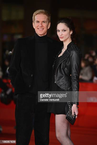 Matthew Modine and Ruby Modine attend the 'Bullets To The Head' Premiere during the 7th Rome Film Festival at the Auditorium Parco Della Musica on...
