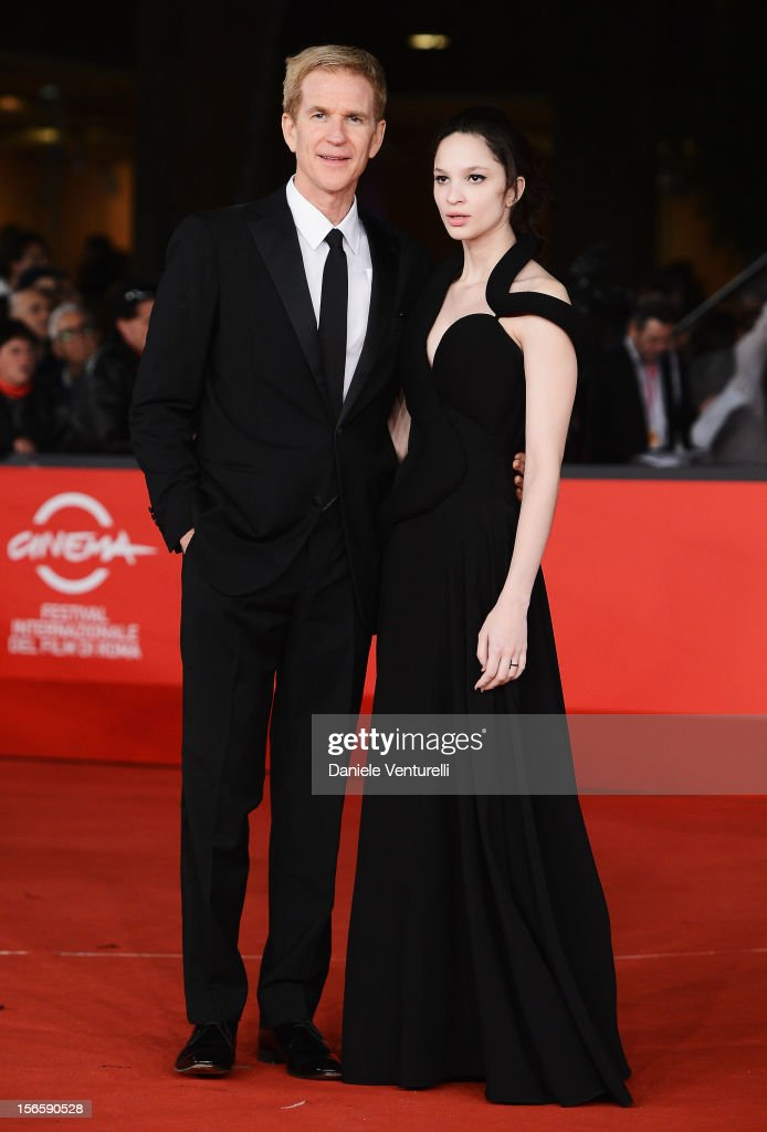 Matthew Modine and Ruby Modine attend the Closing Ceremony Red Carpet during the 7th Rome Film Festival at the Auditorium Parco Della Musica on November 17, 2012 in Rome, Italy.