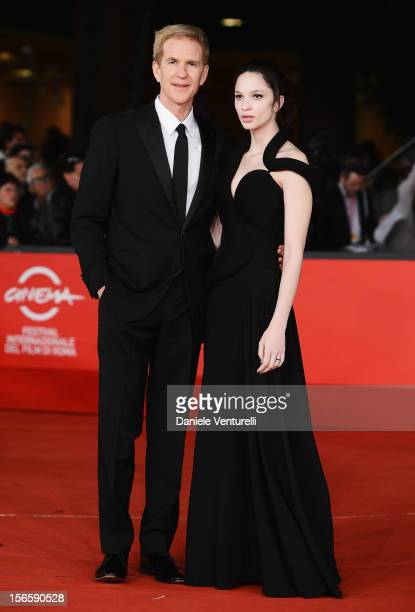 Matthew Modine and Ruby Modine attend the Closing Ceremony Red Carpet during the 7th Rome Film Festival at the Auditorium Parco Della Musica on...