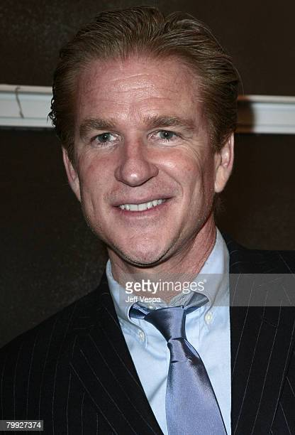 Matthew Modine and wife Caridad Rivera attend the Gagosian Gallery Opening Reception For Julian Schnabel at Gagosian Gallery on February 212008 in...