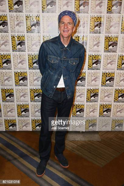 Matthew Modine arrives at the Stranger Things press line at ComicCon International 2017 on July 22 2017 in San Diego California