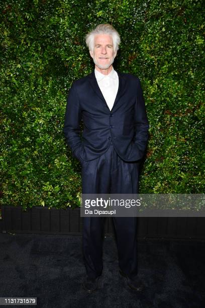 Matthew Modine attends Chanel And Charles Finch PreOscar Awards Dinner At The Polo Lounge in Beverly Hills on February 23 2019 in Beverly Hills...
