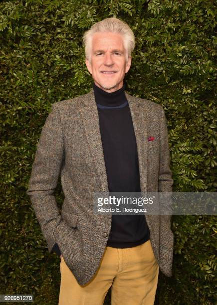 Matthew Modine attends Charles Finch and Chanel PreOscar Awards Dinner at Madeo in Beverly Hills on March 3 2018 in Beverly Hills California