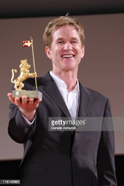 Matthew Modine attends the Lola Ponce at 57th Taormina Film Fest 2011 on June 14 2011 in Taormina Italy