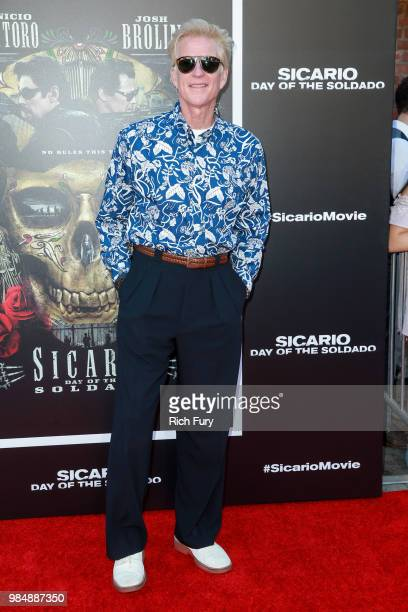 Matthew Modine attends the premiere of Columbia Pictures' Sicario Day Of The Soldado at Regency Village Theatre on June 26 2018 in Westwood California