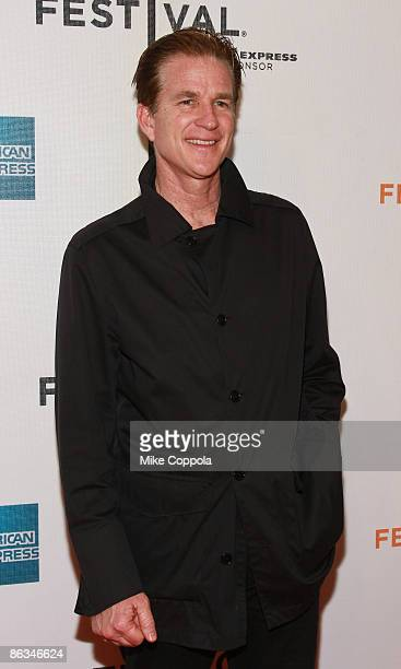 """Matthew Modine attends the premiere of """"Poliwood"""" during the 8th Annual Tribeca Film Festival at the BMCC Tribeca Performing Arts Center on May 1,..."""
