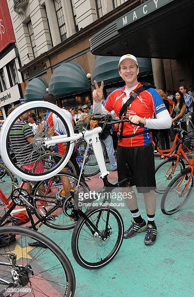 Matthew Modine attends the Wounded Warriors Soldier Ride kickoff at Macy's Herald Square on July 23 2009 in New York City