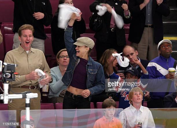 Matthew Modine Cari Modine Spike Lee and son Jackson