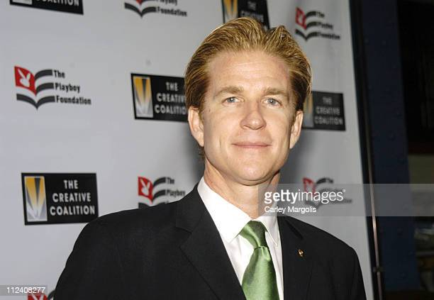 Matthew Modine during 25th Anniversary Hugh M Hefner First Amendment Awards to Benefit The Creative Coalition at Chelsea Piers Pier 60 in New York...