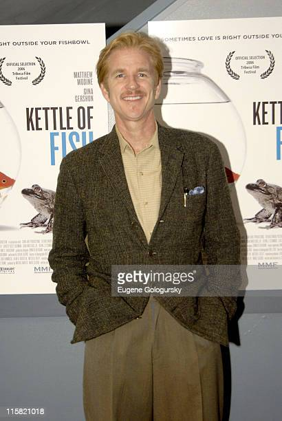Matthew Modine during Kettle of Fish New York Premiere at Loews Village in New York City New York United States