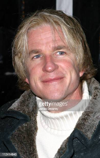 Matthew Modine during The Lord of The Rings The Two Towers Premiere New York at Ziegfeld Theatre in New York City New York United States