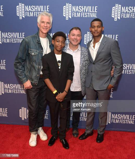 Matthew Modine Krystian Alexander Lyttle Jay Paul Deratany and Shane Paul McGhie attend the Nashville Film Festival's 50th Anniversary Opening Night...
