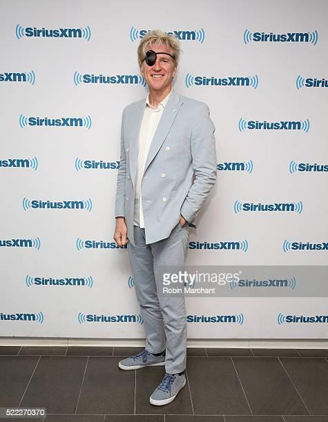 Matthew Modine visits at SiriusXM Studio on April 18, 2016 in New York City.