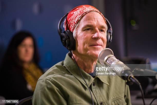 Matthew Modine visits SiriusXM Studios on October 07 2019 in New York City
