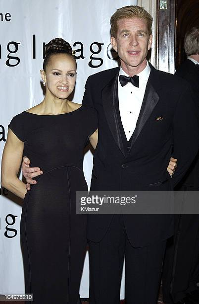 Matthew Modine wife Carrie during The 17th Annual American Museum of the Moving Image Salute to Mel Gibson at The Waldorf Astoria Hotel in New York...