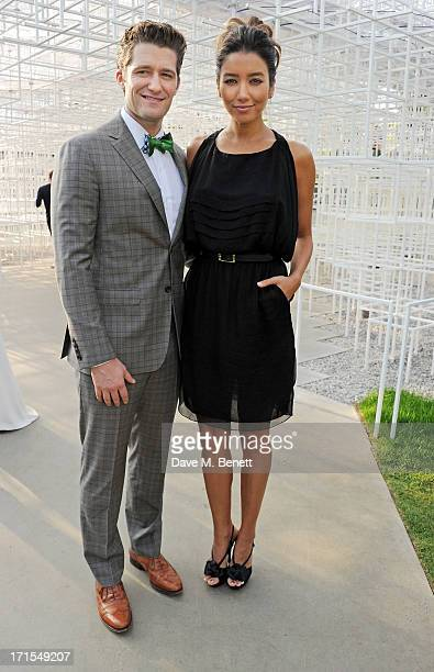 Matthew Morrison and Renee Puente attend the annual Serpentine Gallery Summer Party cohosted by L'Wren Scott at The Serpentine Gallery on June 26...