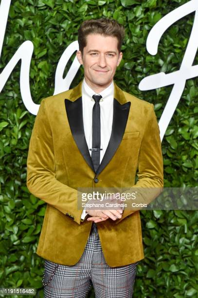 Matthew Morrison arrives at The Fashion Awards 2019 held at Royal Albert Hall on December 02, 2019 in London, England.