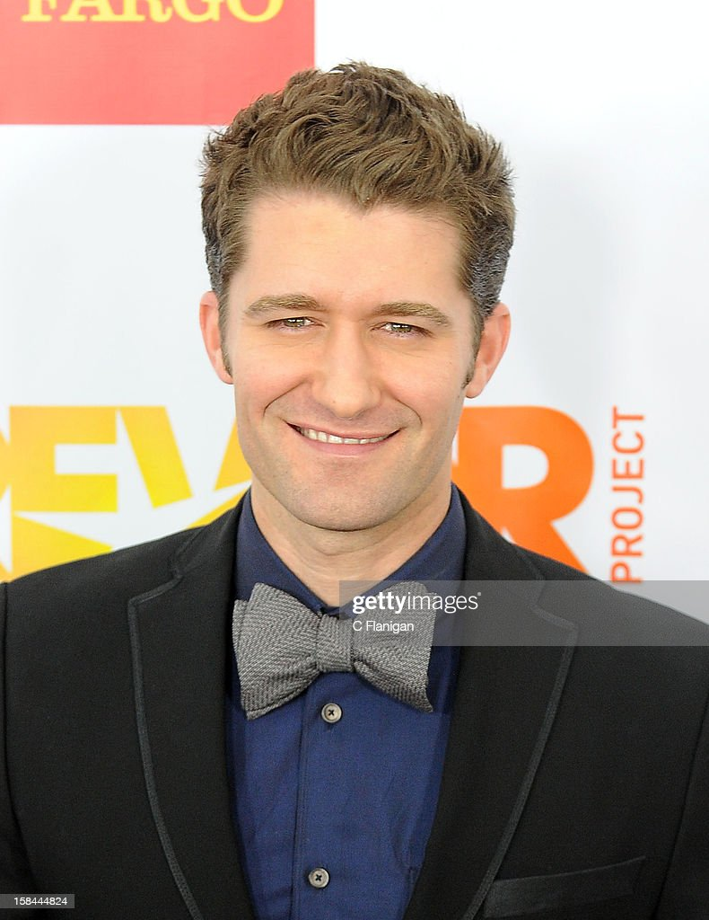 Matthew Morrison arrives at The Trevor Project's 2012 'Trevor Live' Event Honoring Katy Perry at Hollywood Palladium on December 2, 2012 in Hollywood, California.