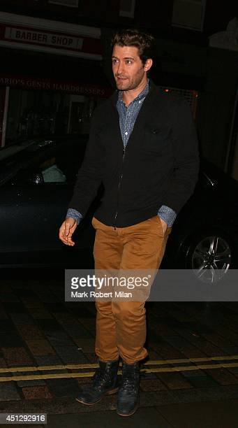 Matthew Morrison at the Chiltern Firehouse on June 26 2014 in London England