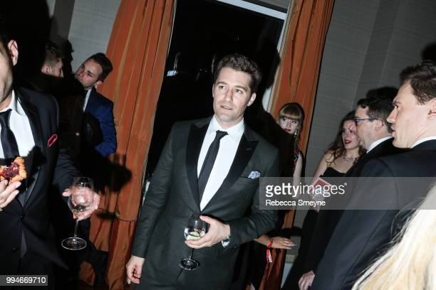 Matthew Morrison attends the 10th Annual OM Tony Awards party at the Carlyle on June 10 2018 in New York New York