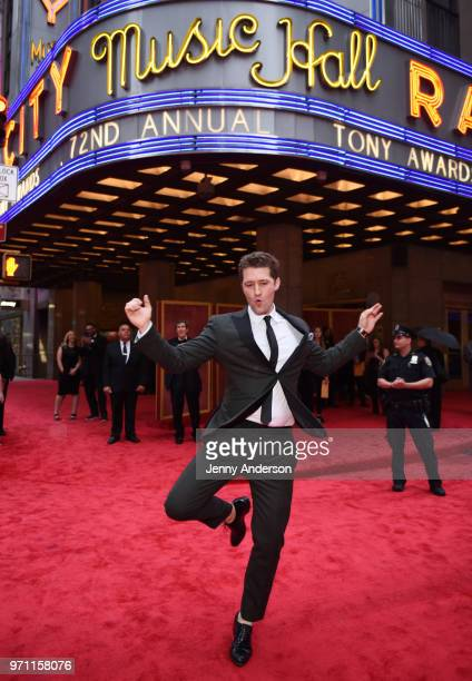Matthew Morrison attends the 72nd Annual Tony Awards at Radio City Music Hall on June 10 2018 in New York City