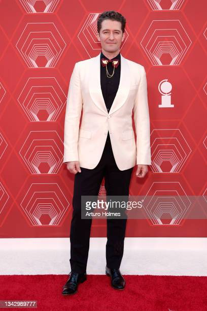 Matthew Morrison attends the 74th Annual Tony Awards at Winter Garden Theater on September 26, 2021 in New York City.
