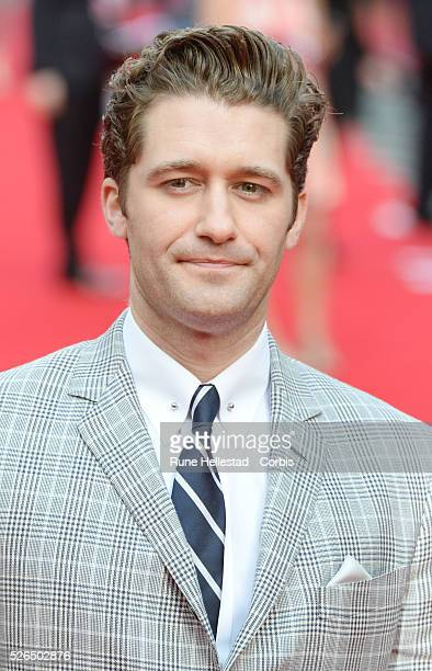 Matthew Morrison attends the opening night of Charlie And The Chocolate Factory at Theatre Royal