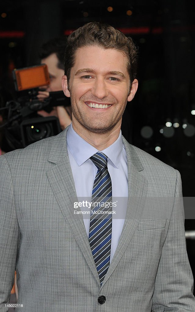 Matthew Morrison attends the UK premiere of 'What To Expect When You're Expecting' at BFI IMAX on May 22, 2012 in London, England.